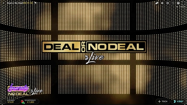 Golden Star Casino introduce Deal or no Deal di Evolution Gaming