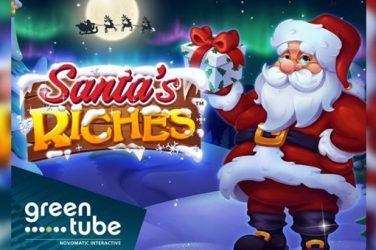 Santa's riches pic news item