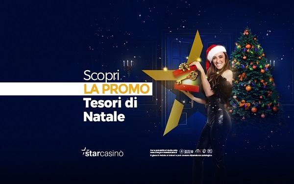 Star Casino lancia la promozione Tesori di Natale