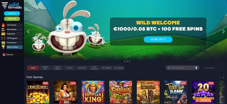 Wildtornado casino pic 2