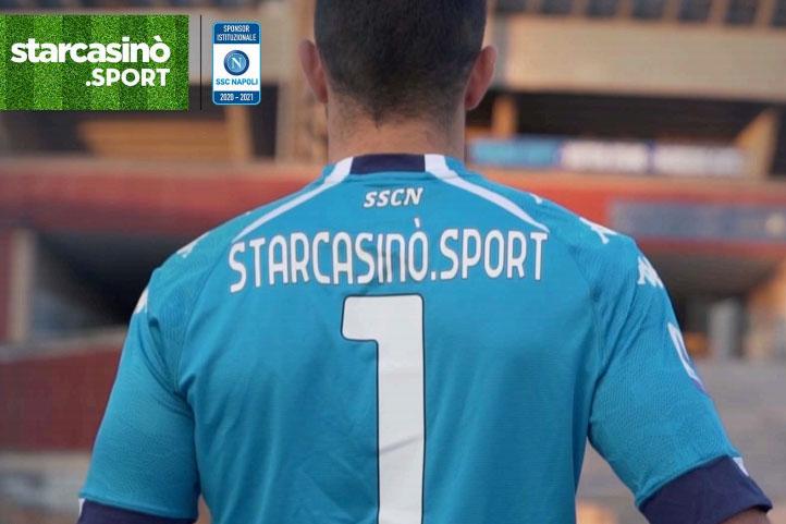 StarCasino.Sport sarà lo sponsor della SSC Napoli