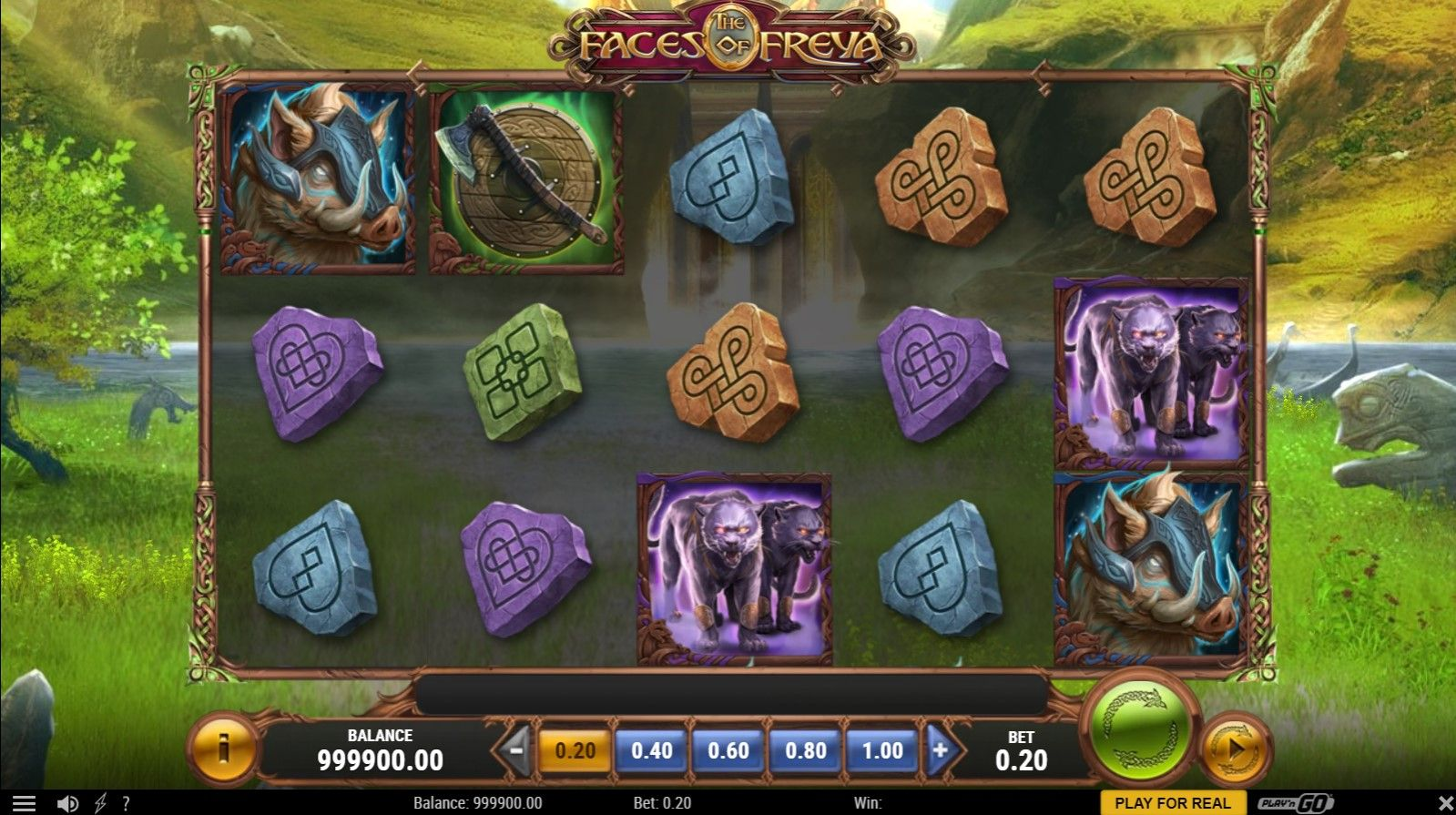 the faces of freya nuove slot