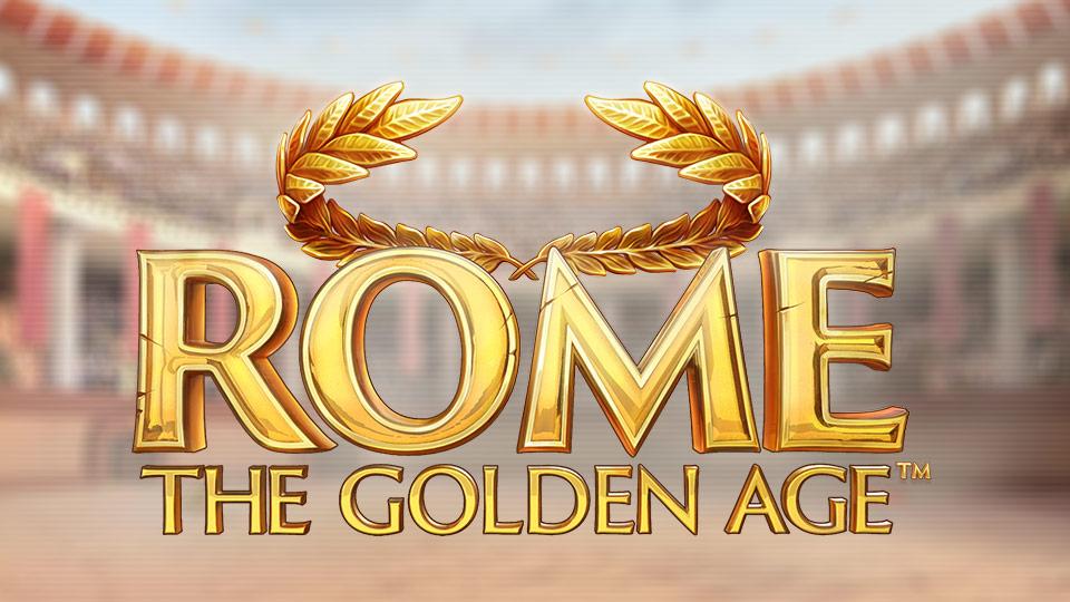 rome the golden age slot logo