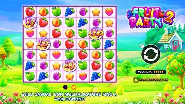 Fruit Party 2, online la news item